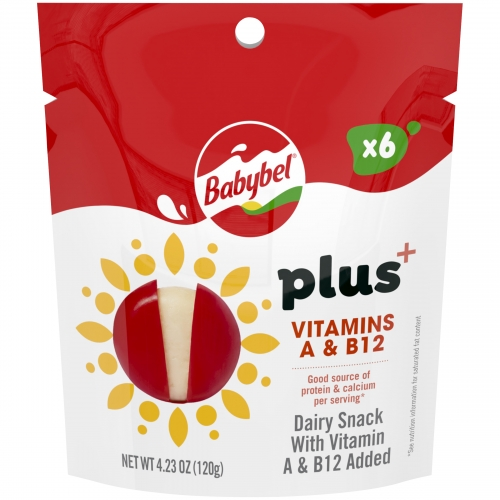 Babybel Plus+ Vitamins